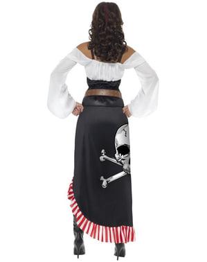 Stoer zeeroverskostuum voor vrouw