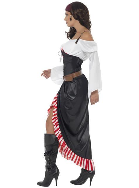 Disfraz de espadachín pirata para mujer - original