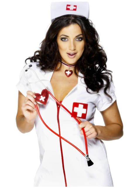 Sydämenmuotoinen stetoskooppi