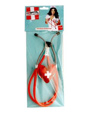 Stethoscoop in hartvorm