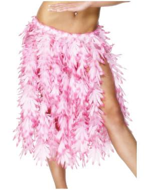 Fustă hawaiană roz