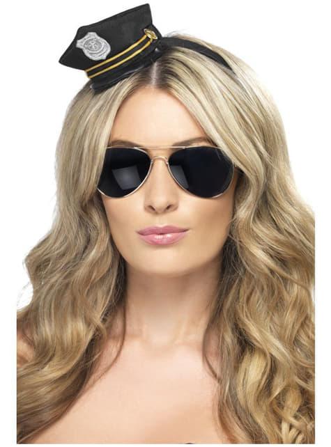 Polizei Mini Mütze