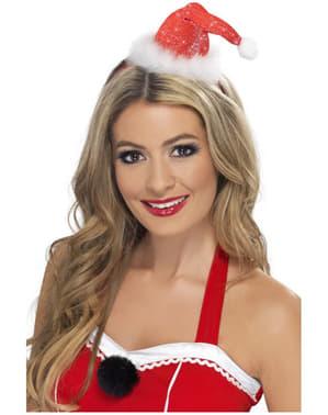 Міні-капелюх Санта-Клауса