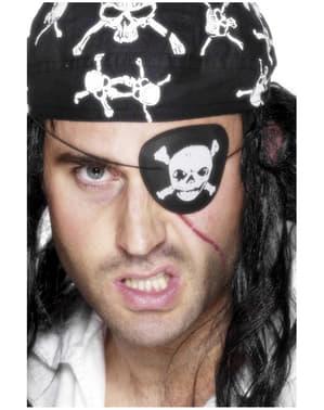 Opaska na oko pirat