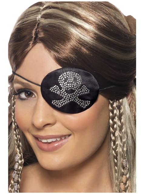 Pirat klap med falske diamanter