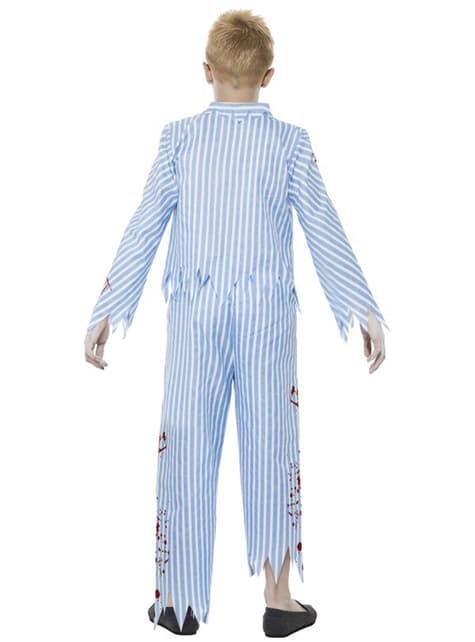Disfraz de pijama zombie para niño - infantil