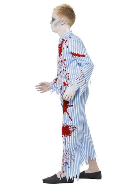 Disfraz de pijama zombie para niño - original