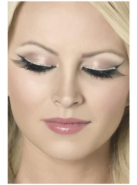 Black Sparkling Eyelashes