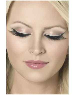 Black Sparkling Eyelashes
