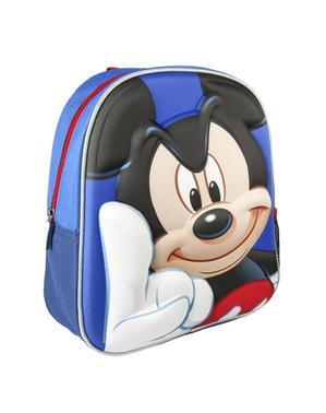 3Dミッキーマウスキッズバックパック - ディズニー