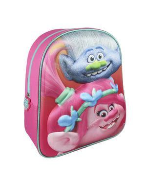Trolls - 3D Poppy børne rygsæk