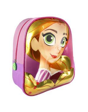 Mochila infantil 3D Rapunzel - Entrelaçados