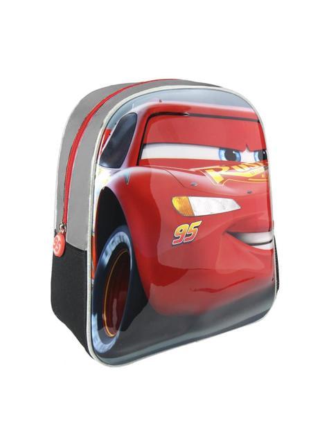 3D Lynet McQueen ryggsekk til barn - Biler 3