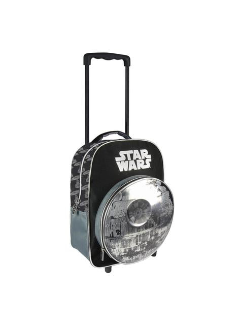 3D Death Star backpack with wheels - Star Wars