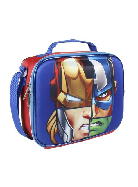 3D The Avengers insulated lunch bag