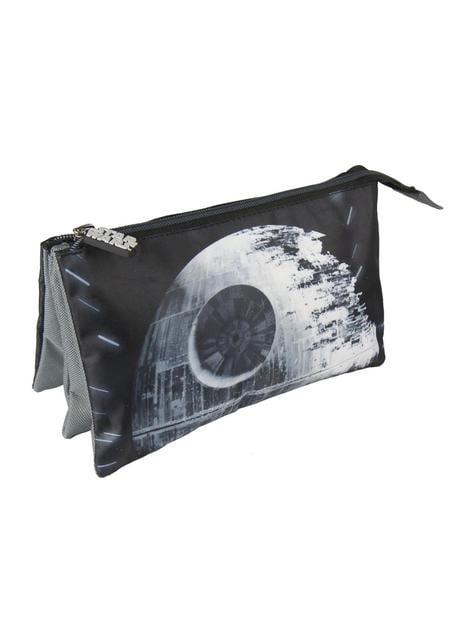 Estojo plano 3 compartimentos Estrela da Morte - Star Wars
