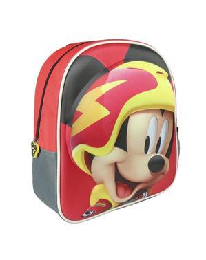 Ransel anak-anak 3D Mickey Mouse dan Roadster Racers merah - Disney