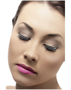 Black Strass Eyelashes