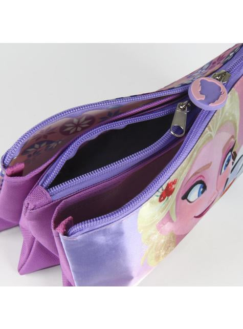 Trousse  con 3 compartiments Elsa La Reine des neiges