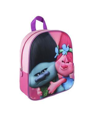 Trolls - 3D Branch og Poppy børne rygsæk