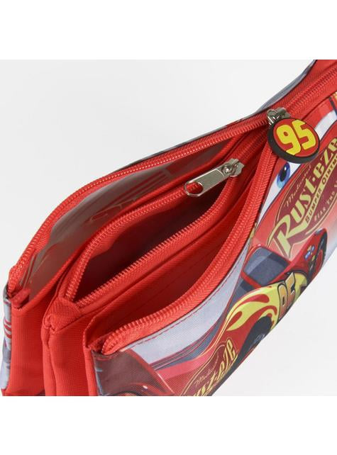 Estuche 3 compartimentos Rayo McQueen - Cars 3  - barato