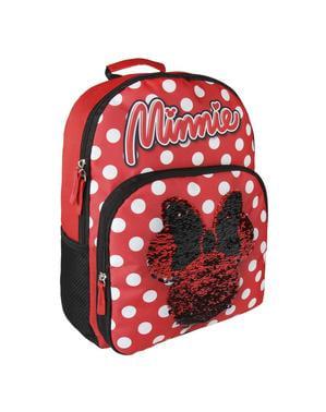 Minnie Mouse okul sırt çantası ile pullu - Disney