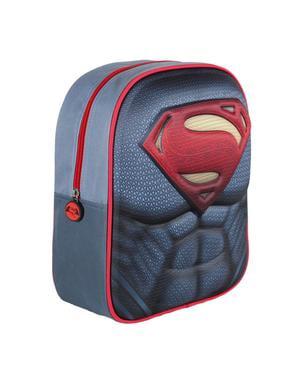 Mochila infantil 3D peito Super-Homem