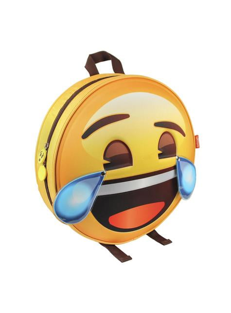 Mochila infantil Emoji risa - Emoji