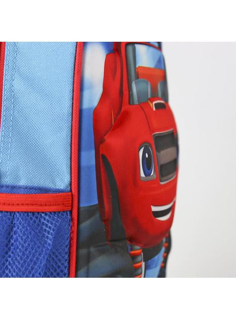 3D Blaze kids backpack with wheels
