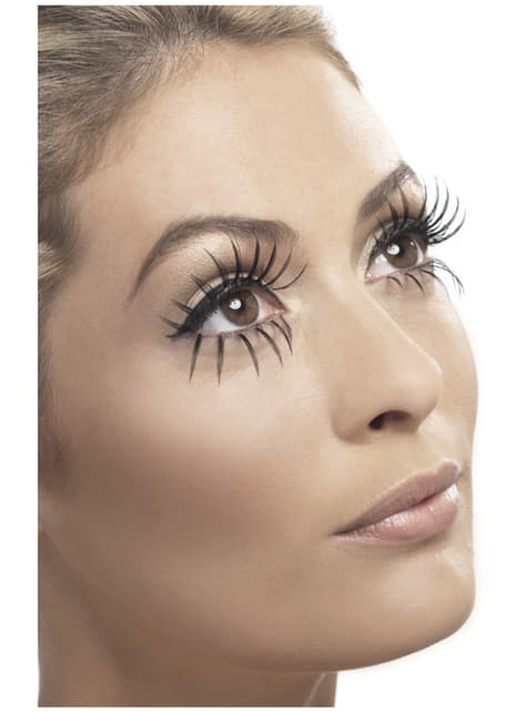Long Black Fake Lashes