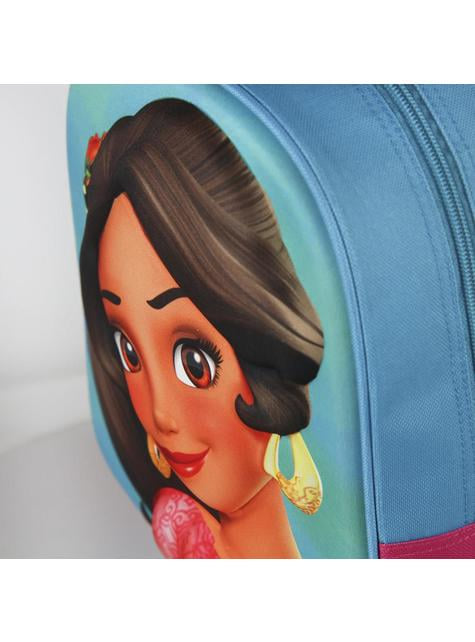 3D Princess Elena kids backpack with wheels - Elena of Avalor