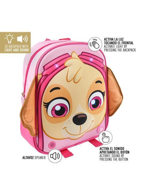 Mochila infantil con luces Skye - Patrulla Canina