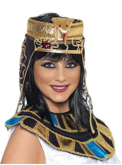 Toucado egípcio para a cabeça