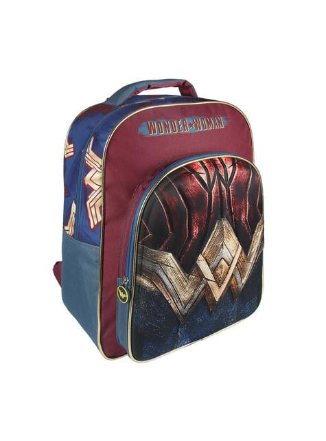 3D Wonder Woman school backpack - The Justice League