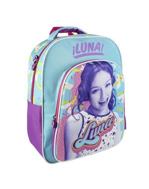 Mochila escolar 3D Luna - Soy Luna