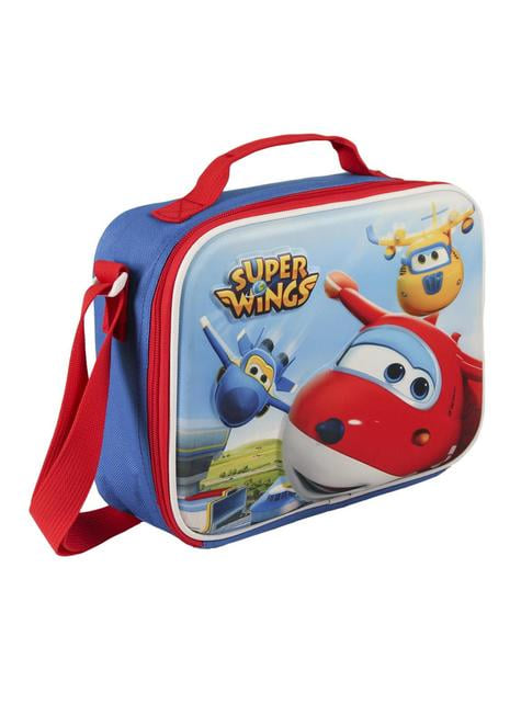 3D Super Wings insulated lunch bag