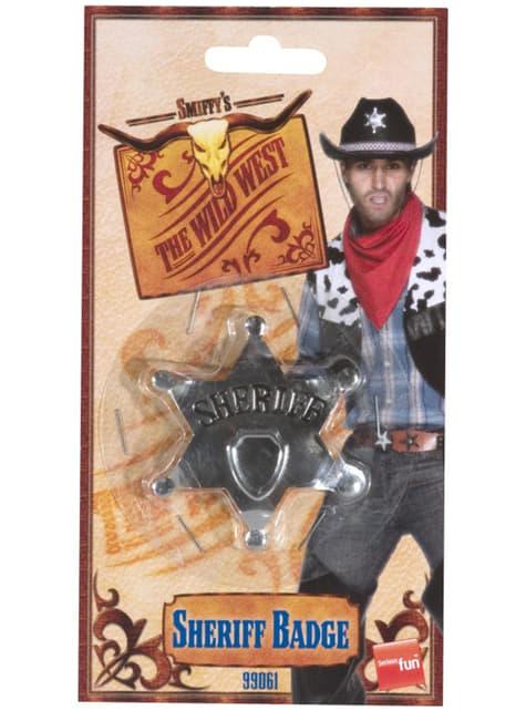 Placa de estrella de Sheriff