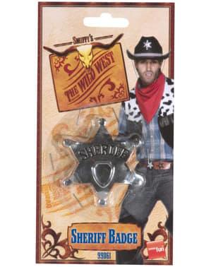 Distintivo de estrela de Xerife