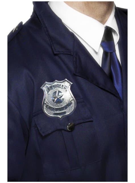 Plaque de policier