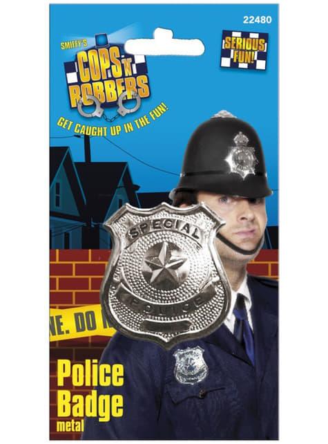 Placa de policía - para tu disfraz
