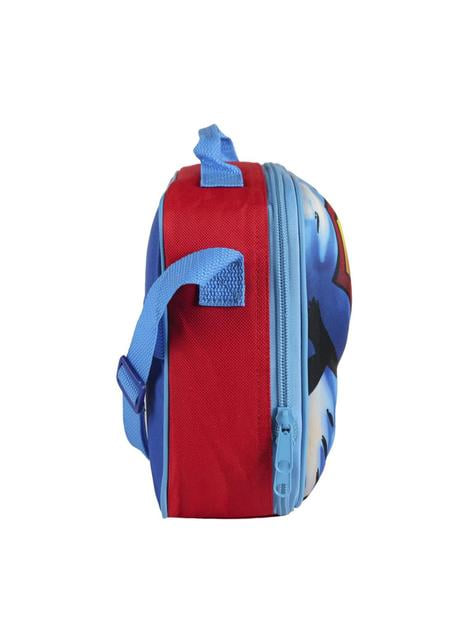 3D Superman insulated lunch bag