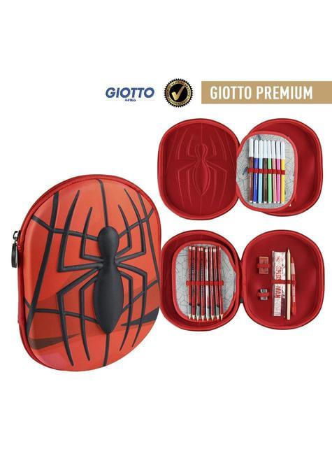 Trousse trois compartiments 3D Spiderman logo
