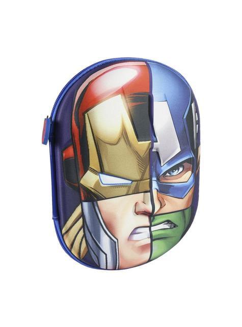 Estuche de tres compartimentos 3D Vengadores – Marvel