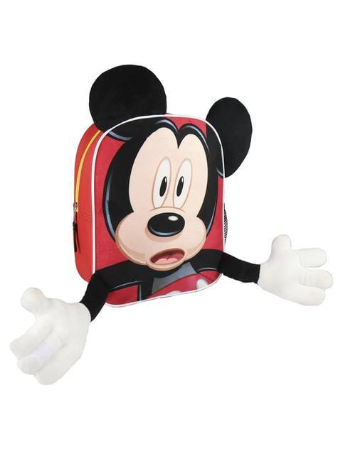 Mochila infantil Mickey Mouse 3D - Disney - oficial