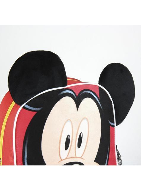 Mochila infantil Mickey Mouse 3D - Disney - el más divertido
