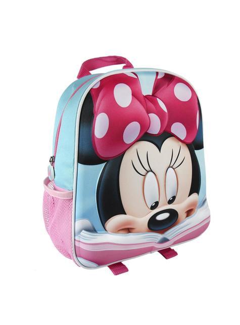Mochila infantil 3D Minnie Mouse roja - Disney