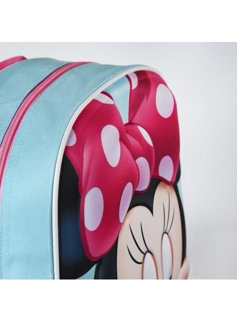 Mochila infantil 3D Minnie Mouse roja - Disney - barato