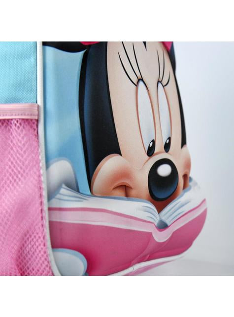 Mochila infantil 3D Minnie Mouse roja - Disney - comprar