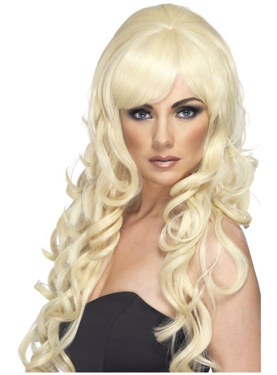 par blond kostym