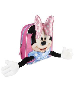 Mochila infantil Minnie Mouse com braços - Disney